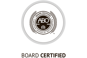 Board certified Horizontal Hover Button at Hannah Orthodontics in Olathe Emporia Lenexa/Shawnee Louisburg Kansas City, KS