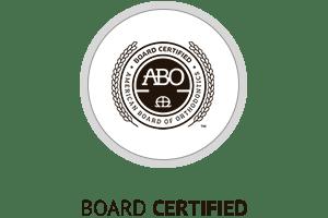Board certified Horizontal Hover Button at Hannah Orthodontics in Olathe Emporia Lenexa/Shawnee Louisburg Kansas City, KS
